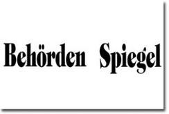 Referenz - Behörden Spiegel
