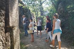 visite guidée forteresse médiévale de Donzy office de tourisme forez-est