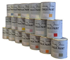 37 Farbtöne von Annie Sloan Chalk Paint