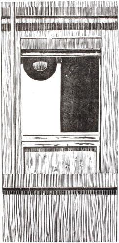 KLINIKFENSTER  2007  38 x 20,5 cm