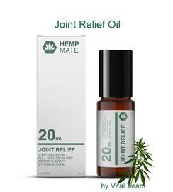 HempMate Joint Relief Oil CBD für Gelenk & Haut Kosmetiklinie HempMate Partner Vital Team