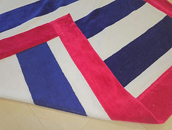 Velour beach towels manufacturing
