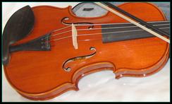 violon étude corps