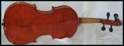violon étude dos