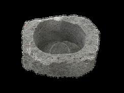 マツシロック 植物ポット(自然石)