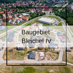 GEO-Drohne Luftbilder Neubaugebiet Bleichel IV