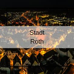 Luftbildaufnahmen Stadt Roth mit der Drohne