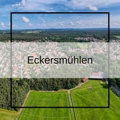 Luftbildaufnahmen Eckersmühlen mit der Drohne