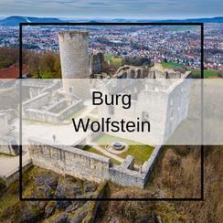 Luftbildaufnahmen Burg Wolfstein Neumarkt