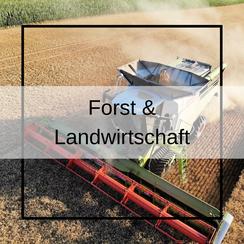 Aufnahmen für Forst & Landwirtschaft.