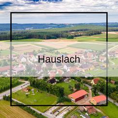 Luftbildaufnahmen Hauslach bei Georgensgmünd