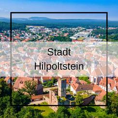 Luftbildaufnahme Stadt Hilpoltstein mit der Drohne