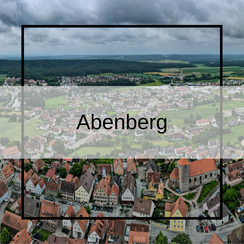 Luftbildaufnahmen Abenberg mit der Drohne
