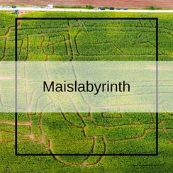 Maislabyrinth in Bayern