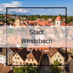Luftbildaufnahmen Stadt Windsbach