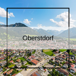 Luftbildaufnahmen Oberstdorf im Allgäu