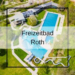 Freizeitbad Roth Luftbildaufnahmen mit der Drohne