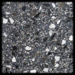 Terrazzoplatte graun/weiss/schwarz - Terrazzo Factory