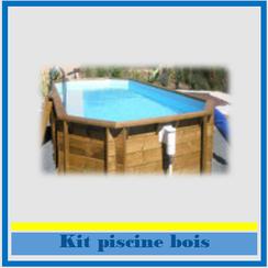 Kit bois et hors-sol Réso Blue Lagon