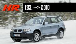 reprogrammation moteur bmw x3 e83