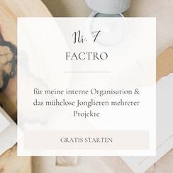 Braut Concierge Business Toolkit: Factro