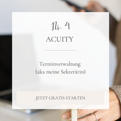 Braut Concierge Business Toolkit: Acuity
