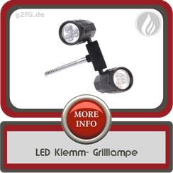 Grill LED Lampe