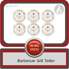Barbecue Grill Teller