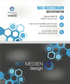 Zenoflex Visitenkarte Muster Vorlage Business Card