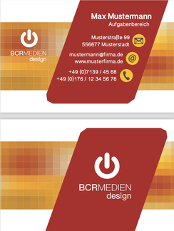 Comercial Business Visitenkarte Design Style Card