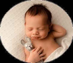 Neugeborenenfotos Geschwister