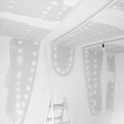 Trockenbau - Modulbau, Deckenmodul, 3D - GERZEN wand-design