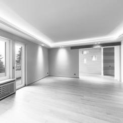 Integrierte Lichtsysteme und Einbauleuchten- GERZEN wand-design