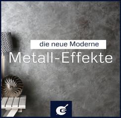Metalleffekte, Metalloptik, Metall-Look