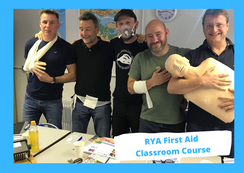 RYA First Aid Course & Emergency First Aid Course, Poole