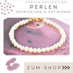 Halsketten und Edelstein Armbänder mit echten Perlen
