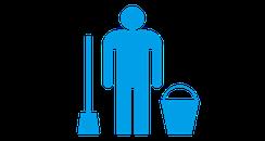 3:お掃除実施|家中まるごとリセットクリーニングご利用の流れ