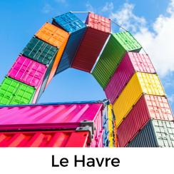 Le Havre, Normandie, Urlaub mit Hund