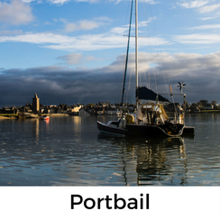 Portbail, Urlaub mit Hund, Normandie