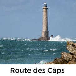 Die Route des Caps in der Normandie führt bis zum nördlichsten Zipfel der rauen Halbinsel Cotentin