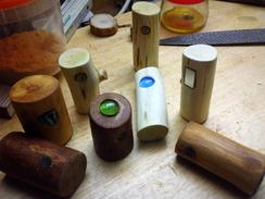 Magnetische Seifenhalter aus Holz