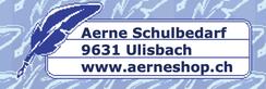 Aerne Schulbedarf Logo