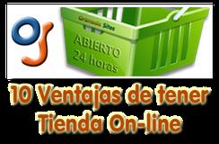 Ventajas de Tienda Online - Artículo de Granada Sites
