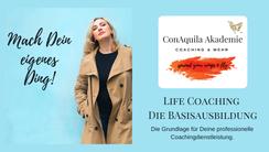 Life Coaching Ausbildung, ConAquila Coaching Akademie
