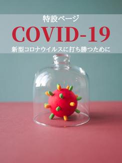 新型コロナウイルスに打ち勝つための対策支援