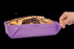 coox Wunderform, Größe M, Silikon-Backform, faltbare Backform, Silikon-Backform zum Falten, kochen, Küche, backen