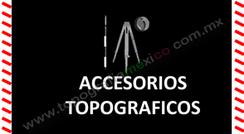 accesorios para equipo topografico