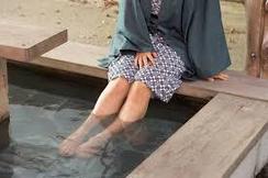 足湯の効果