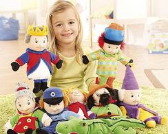 Puppen, Handpuppen, lebensecht