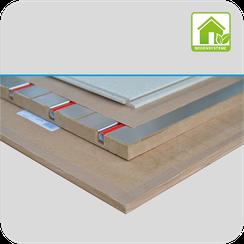 Systemlösungen für Schalldämmung, Fußbodenheizung und Trockenestrich